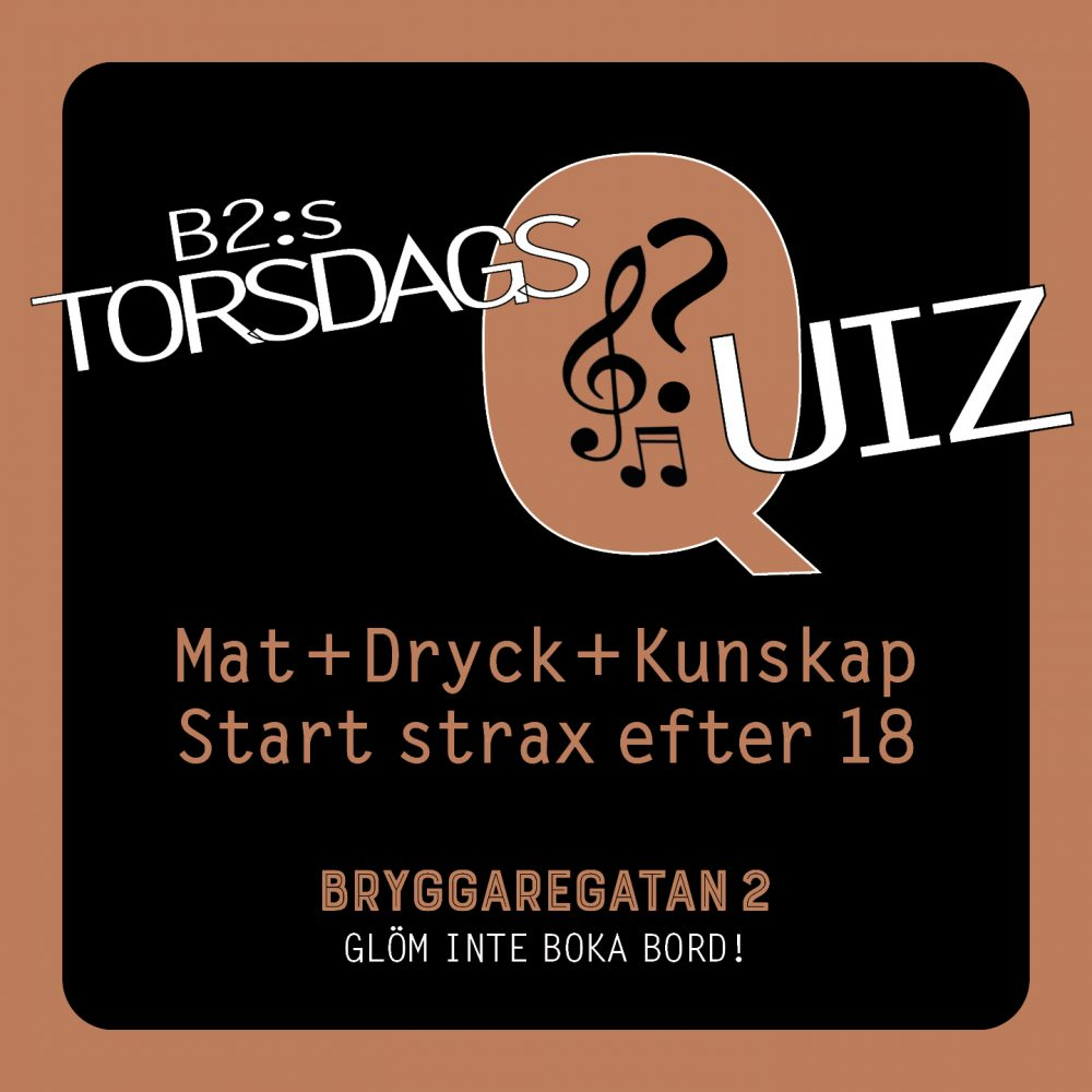 B2:s TorsdagsQuiz
